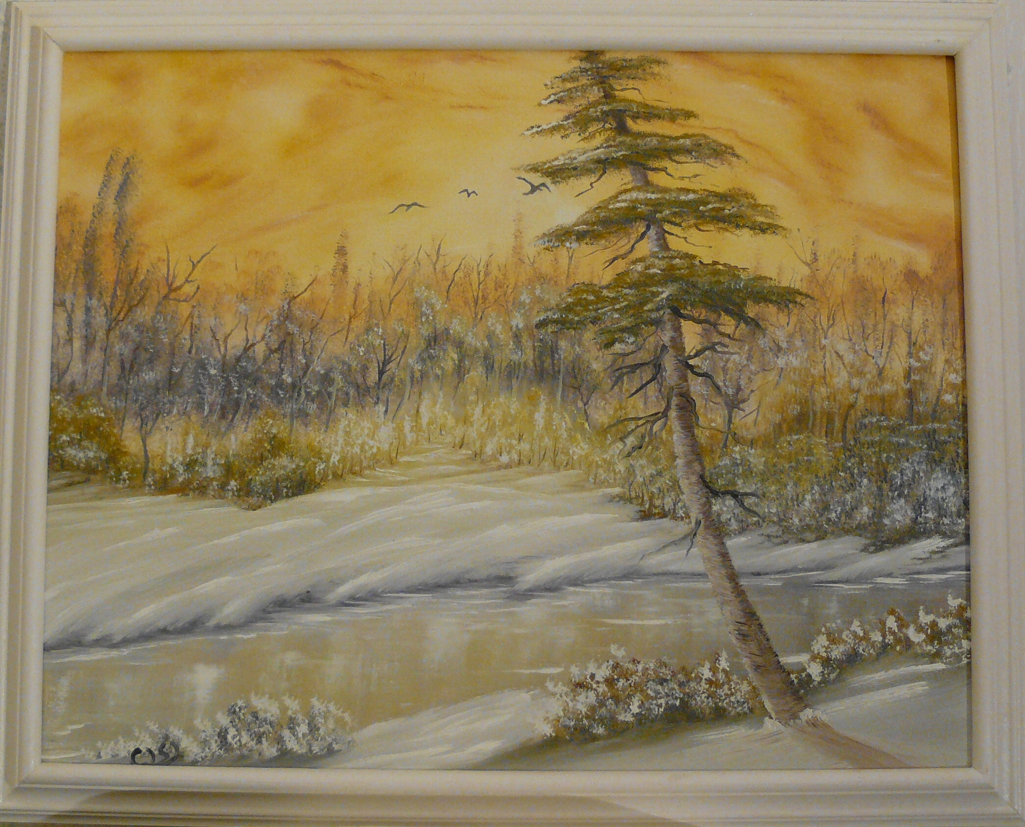 """Before the Winter storm"". 2011. 40X50 cm."