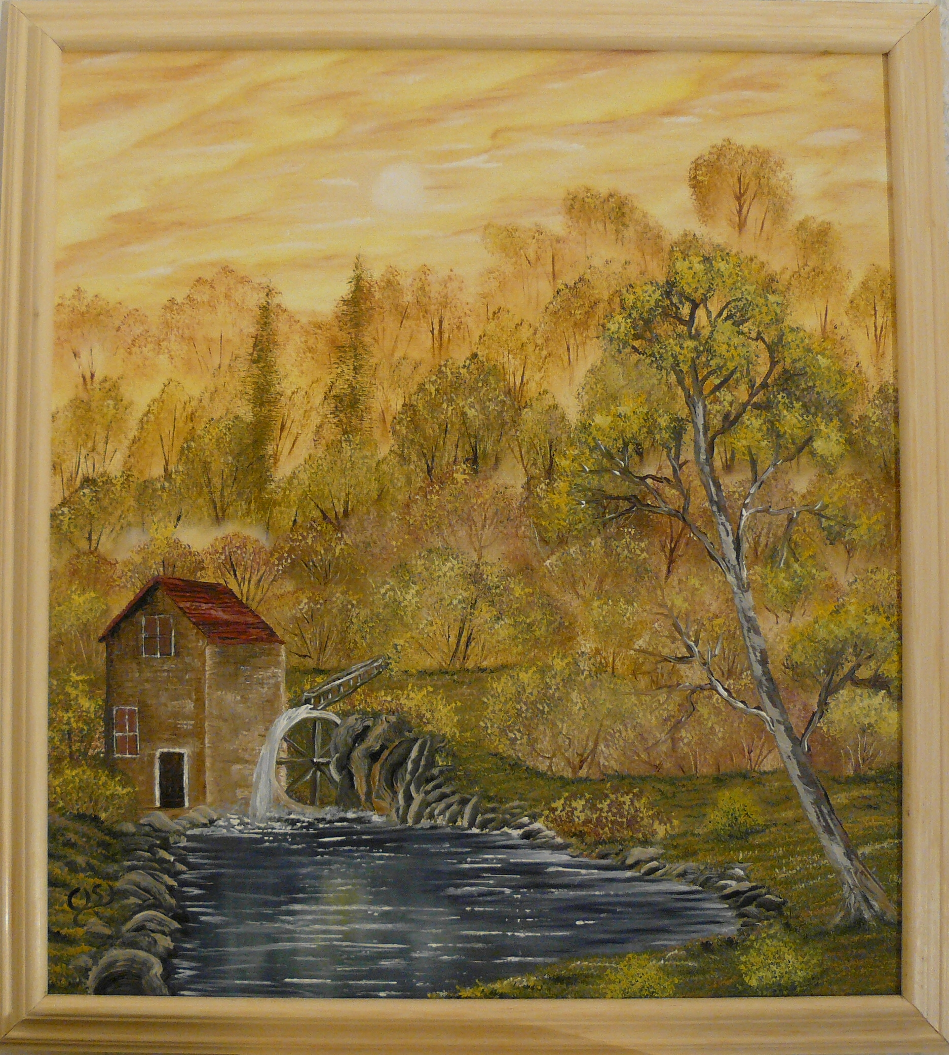 """The old mill"". 2011. 40X50 cm."